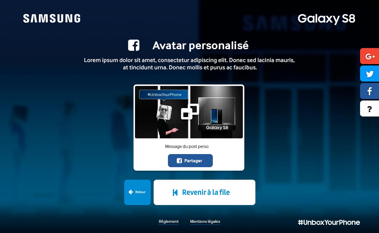 Samsung – Ligne virtuel