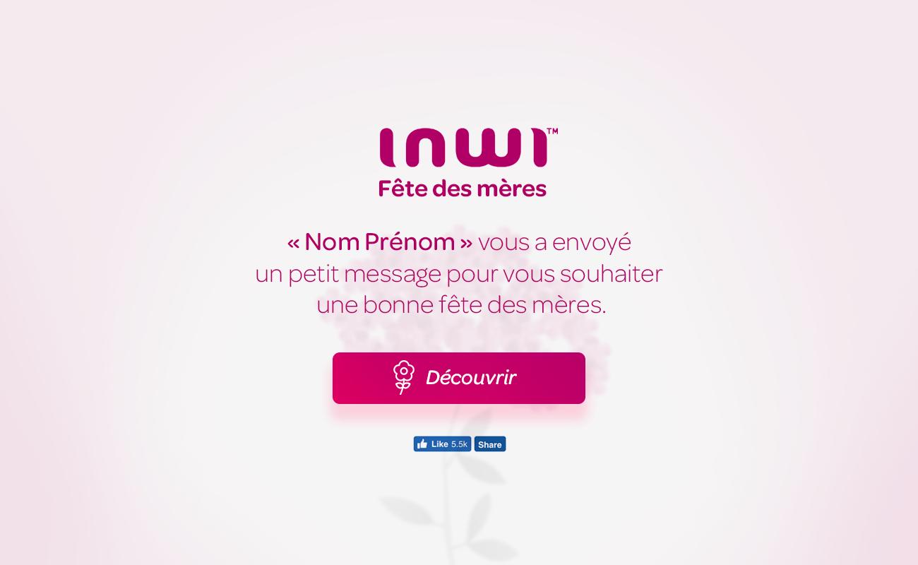 Inwi – Fleur Virtuel