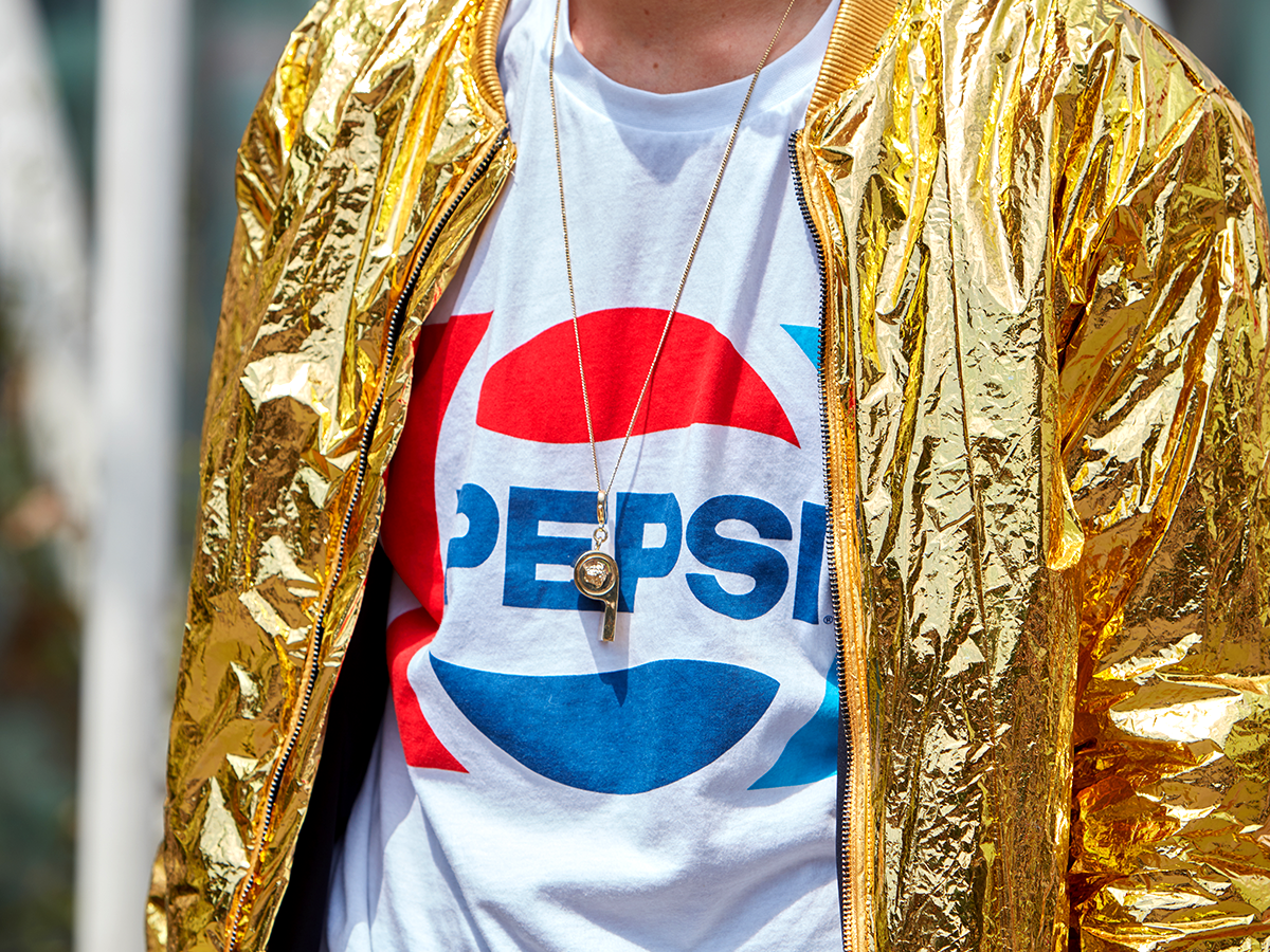 Pepsi Post-fashion